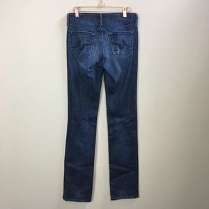 AG Adriano Goldschmied Catwalk Straight Jeans 27